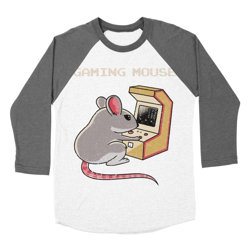 Gaming Mouse Men's Baseball Triblend T-Shirt by vincenttrinidad's Artist Shop