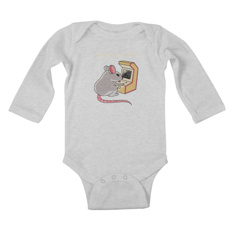 Gaming Mouse Kids Baby Longsleeve Bodysuit by vincenttrinidad's Artist Shop