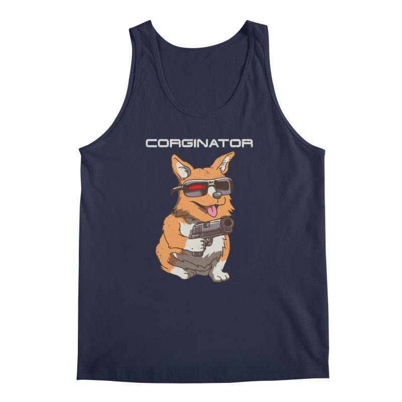 Corginator Men's Tank by vincenttrinidad's Artist Shop