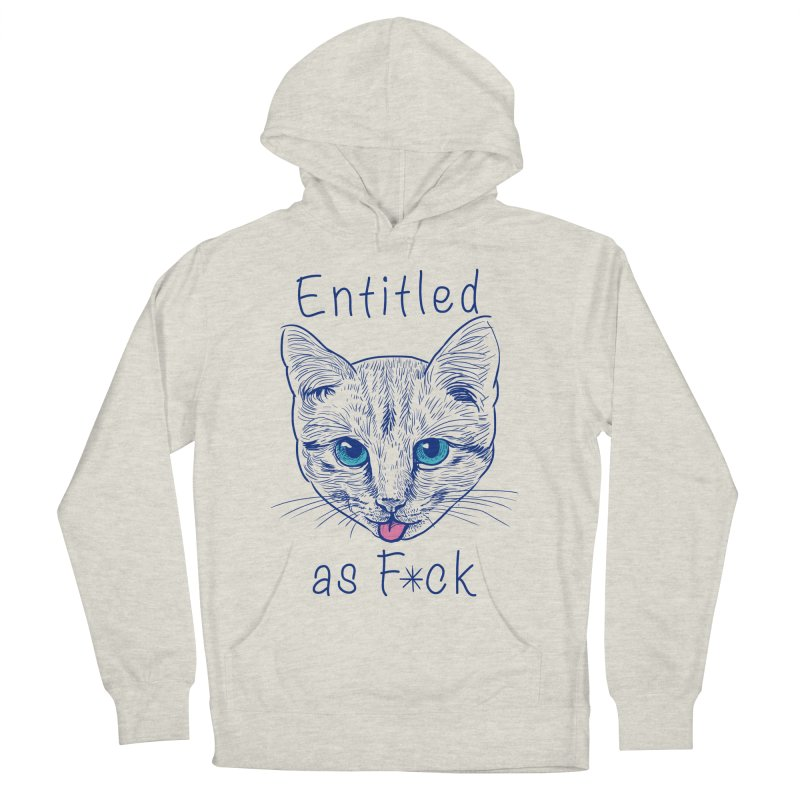 Entitled Cat Women's Pullover Hoody by vincenttrinidad's Artist Shop