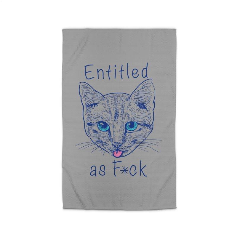 Entitled Cat Home Rug by vincenttrinidad's Artist Shop
