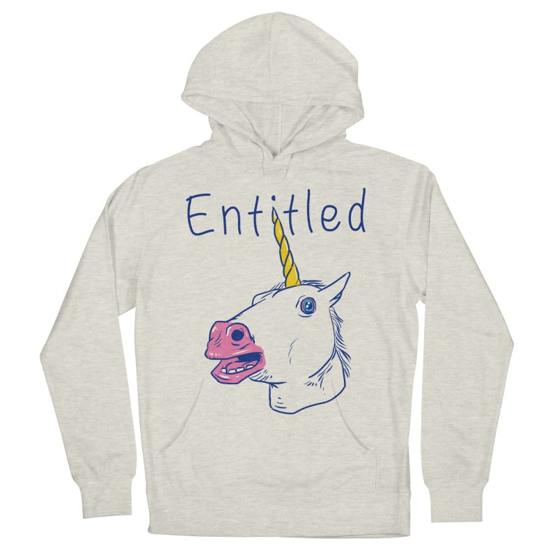 Entitled Unicorn Women's Pullover Hoody by vincenttrinidad's Artist Shop