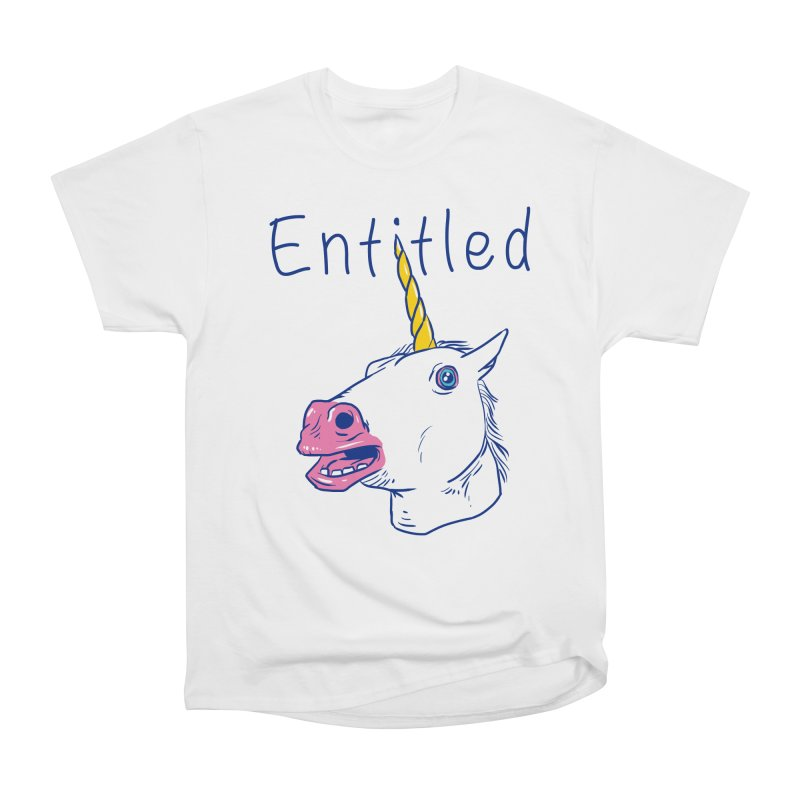 Entitled Unicorn Men's Classic T-Shirt by vincenttrinidad's Artist Shop