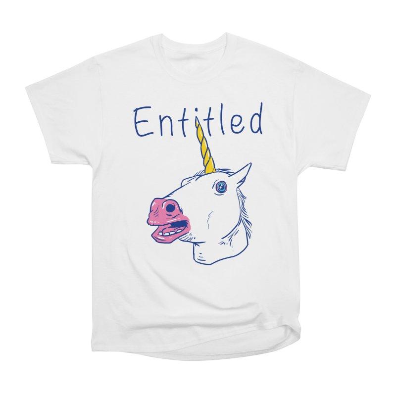 Entitled Unicorn Women's Classic Unisex T-Shirt by vincenttrinidad's Artist Shop
