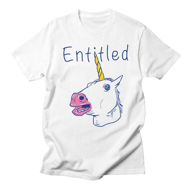 Entitled Unicorn Women's Unisex T-Shirt by vincenttrinidad's Artist Shop