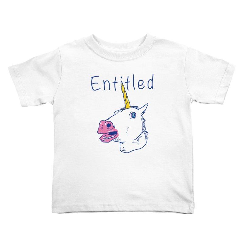 Entitled Unicorn Kids Toddler T-Shirt by vincenttrinidad's Artist Shop