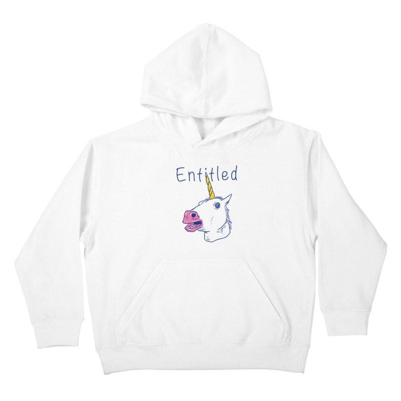 Entitled Unicorn Kids Pullover Hoody by vincenttrinidad's Artist Shop