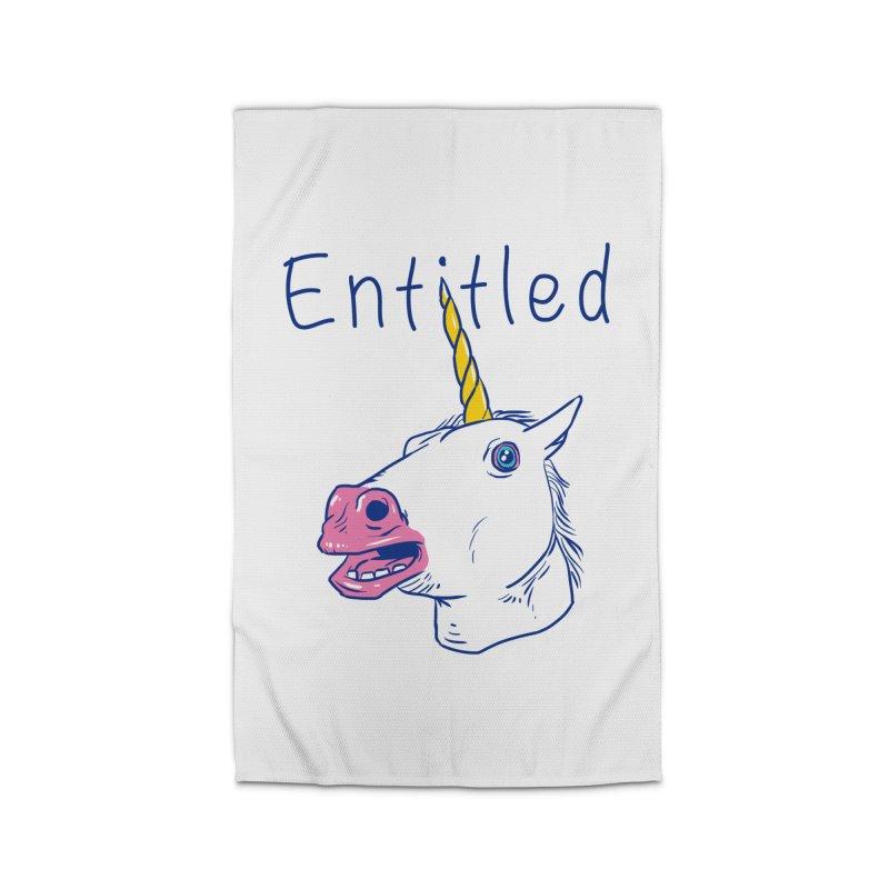 Entitled Unicorn Home Rug by vincenttrinidad's Artist Shop