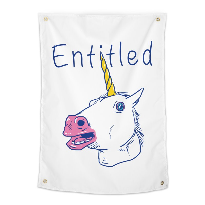 Entitled Unicorn Home Tapestry by vincenttrinidad's Artist Shop