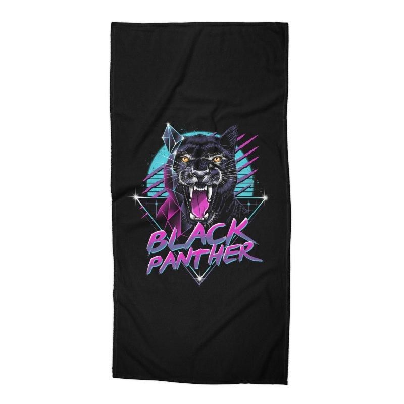Rad Panther Accessories Beach Towel by vincenttrinidad's Artist Shop