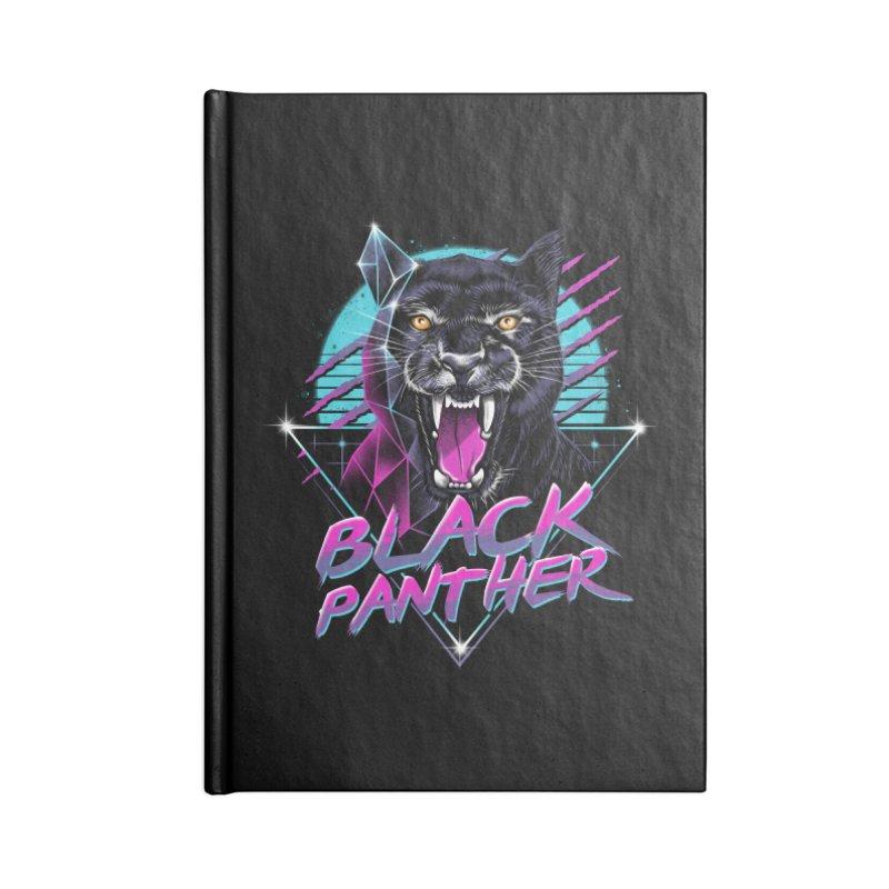 Rad Panther Accessories Notebook by vincenttrinidad's Artist Shop