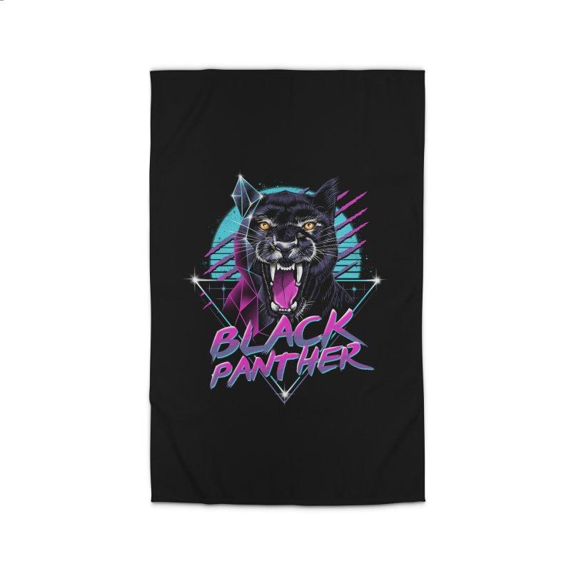 Rad Panther Home Rug by vincenttrinidad's Artist Shop