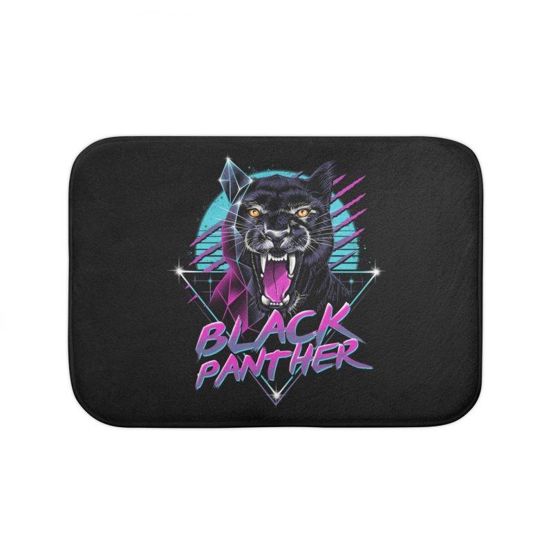 Rad Panther Home Bath Mat by vincenttrinidad's Artist Shop