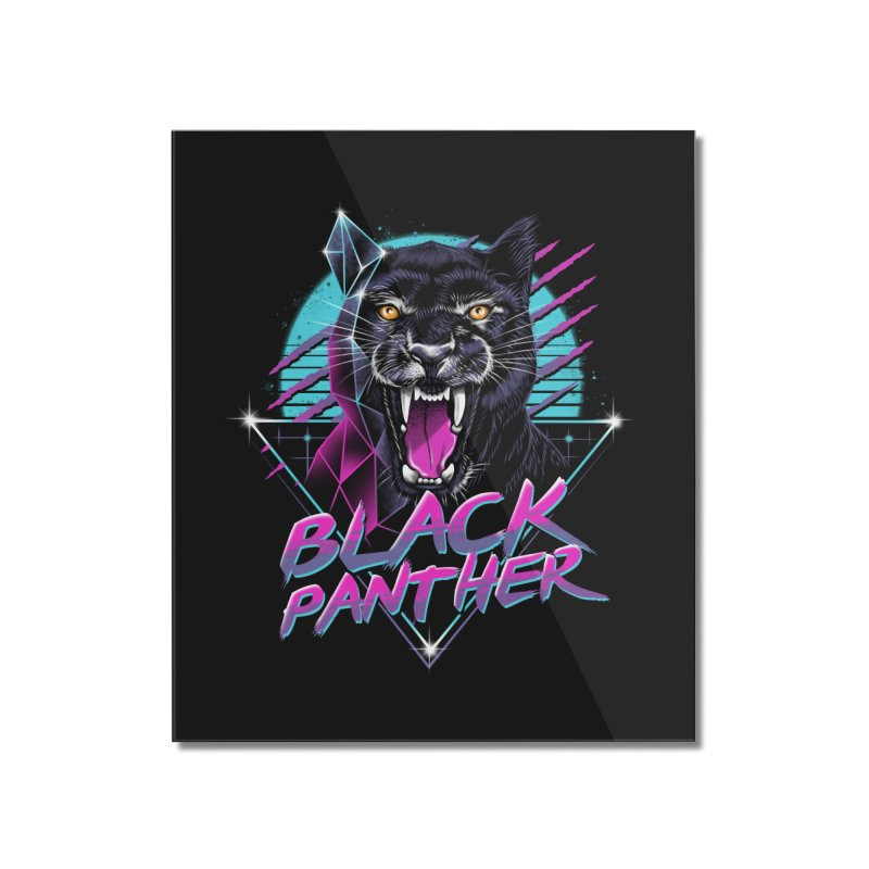 Rad Panther Home Mounted Acrylic Print by vincenttrinidad's Artist Shop