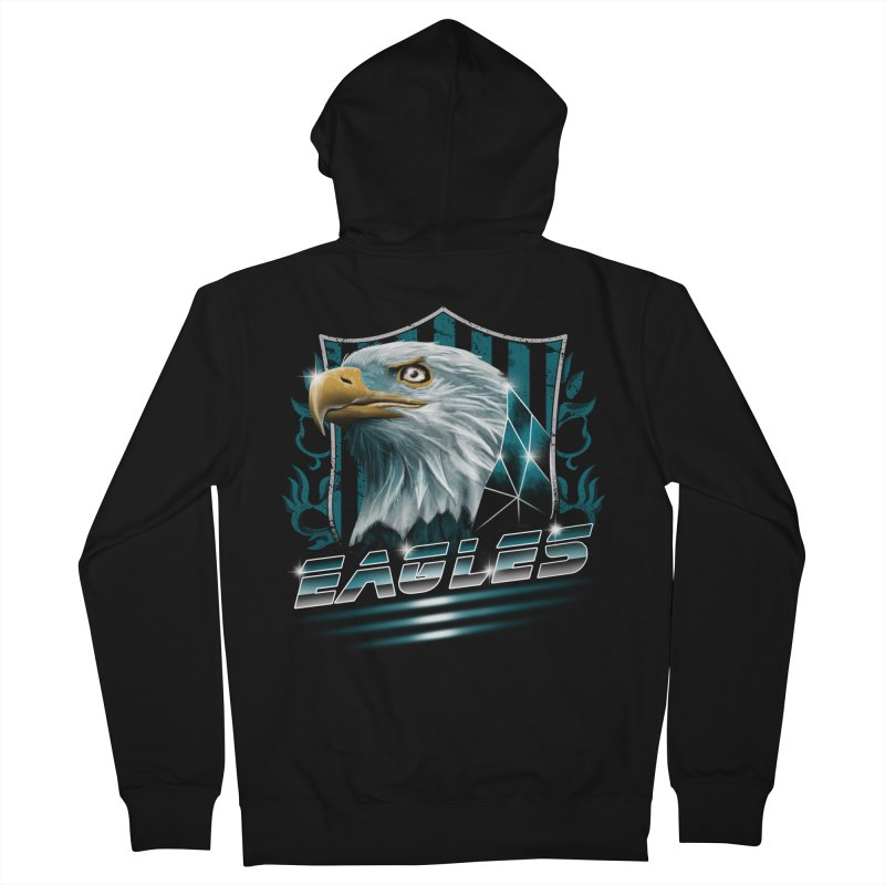 Fly Eagles Fly Women's Zip-Up Hoody by vincenttrinidad's Artist Shop
