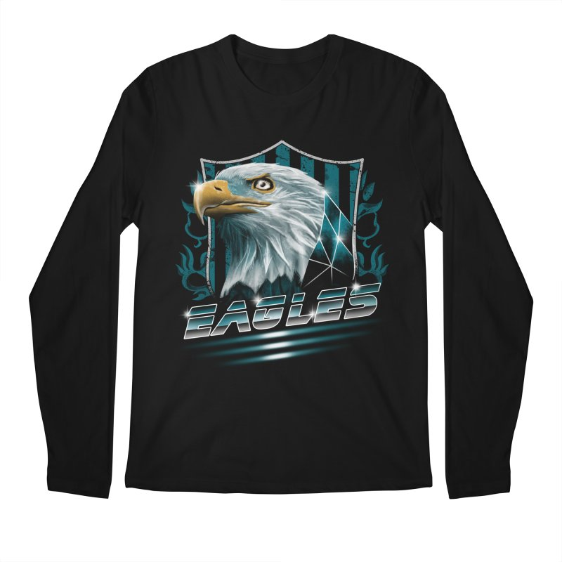 Fly Eagles Fly Men's Longsleeve T-Shirt by vincenttrinidad's Artist Shop