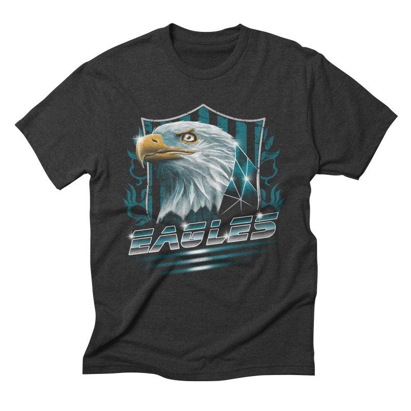 Fly Eagles Fly Men's Triblend T-Shirt by vincenttrinidad's Artist Shop