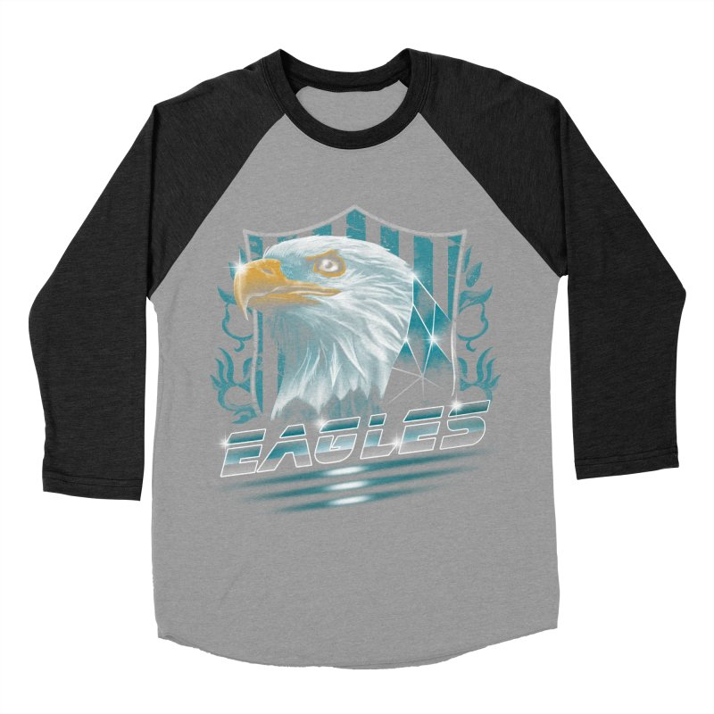 Fly Eagles Fly Men's Baseball Triblend T-Shirt by vincenttrinidad's Artist Shop