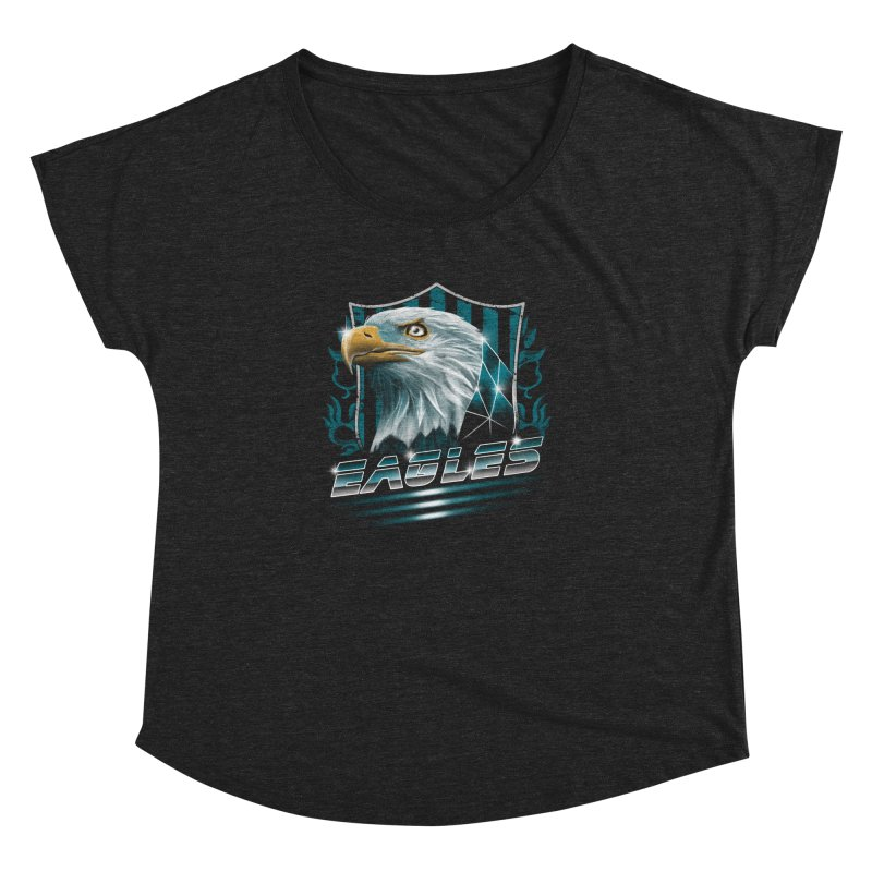 Fly Eagles Fly Women's Dolman by vincenttrinidad's Artist Shop