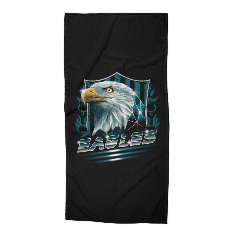 Fly Eagles Fly Accessories Beach Towel by vincenttrinidad's Artist Shop
