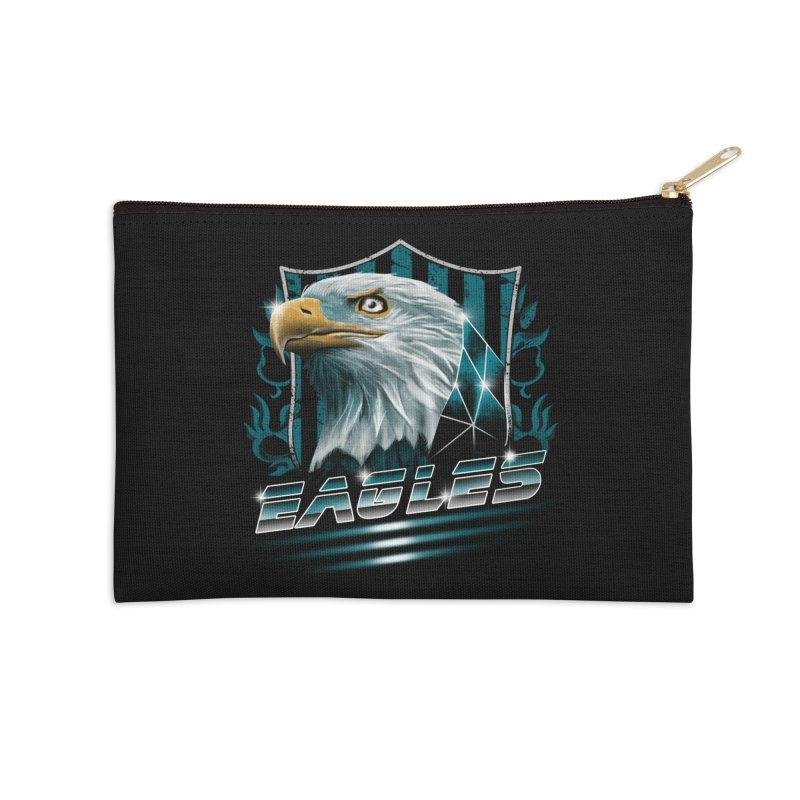 Fly Eagles Fly Accessories Zip Pouch by vincenttrinidad's Artist Shop