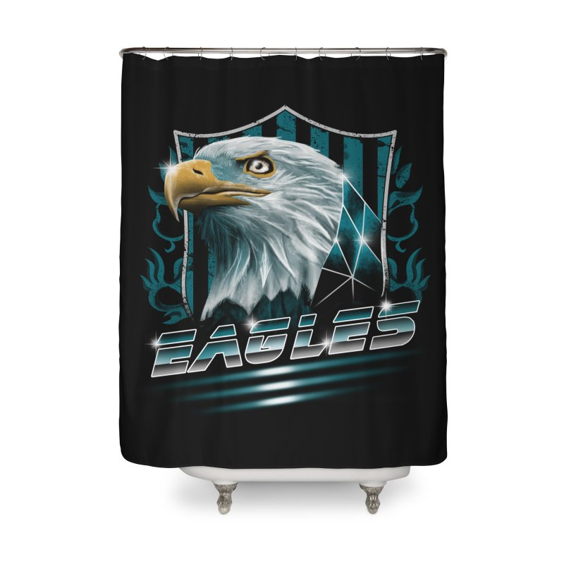 Fly Eagles Fly Home Shower Curtain by vincenttrinidad's Artist Shop