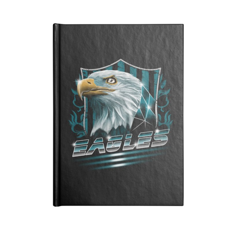Fly Eagles Fly Accessories Notebook by vincenttrinidad's Artist Shop