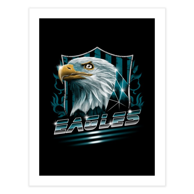 Fly Eagles Fly Home Fine Art Print by vincenttrinidad's Artist Shop