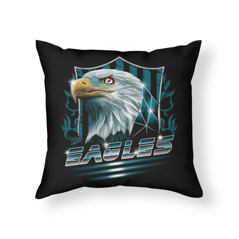 Fly Eagles Fly Home Throw Pillow by vincenttrinidad's Artist Shop
