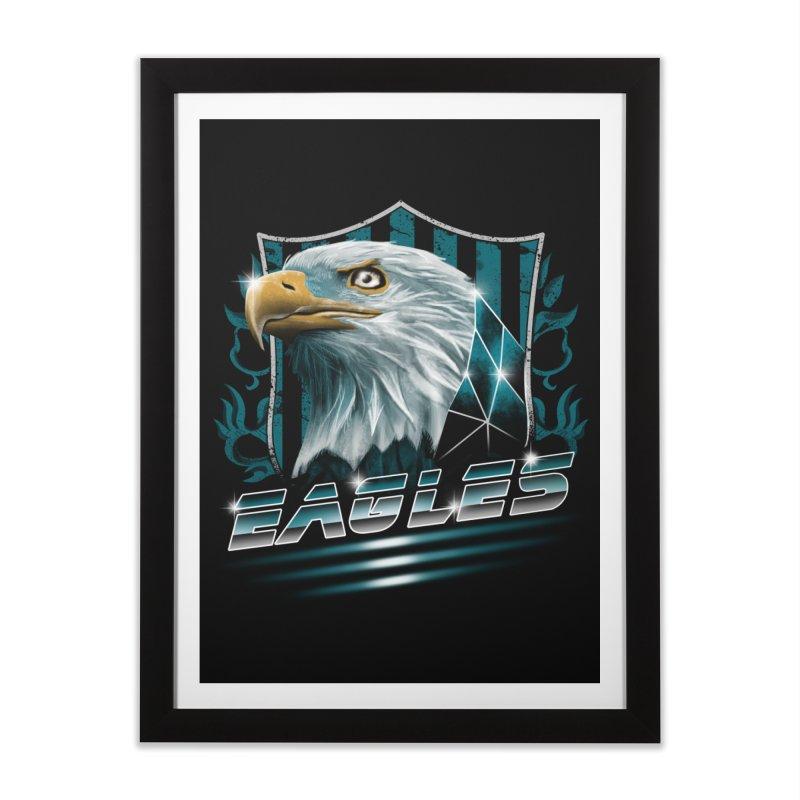 Fly Eagles Fly Home Framed Fine Art Print by vincenttrinidad's Artist Shop