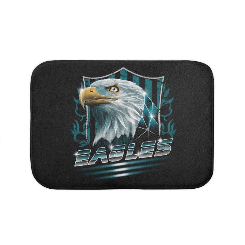 Fly Eagles Fly Home Bath Mat by vincenttrinidad's Artist Shop