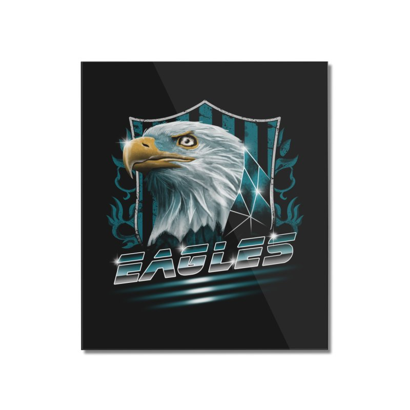 Fly Eagles Fly Home Mounted Acrylic Print by vincenttrinidad's Artist Shop