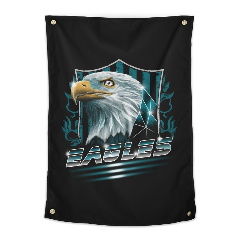 Fly Eagles Fly Home Tapestry by vincenttrinidad's Artist Shop