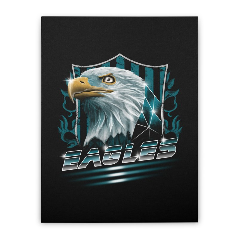 Fly Eagles Fly Home Stretched Canvas by vincenttrinidad's Artist Shop