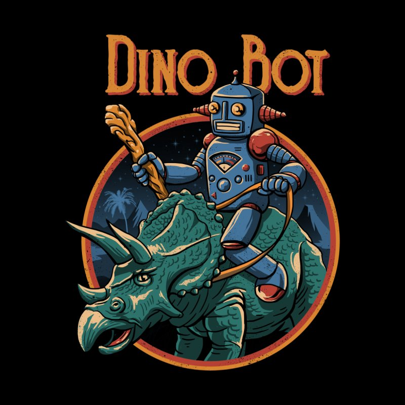 Dino Bot 2 by Vincent Trinidad Art