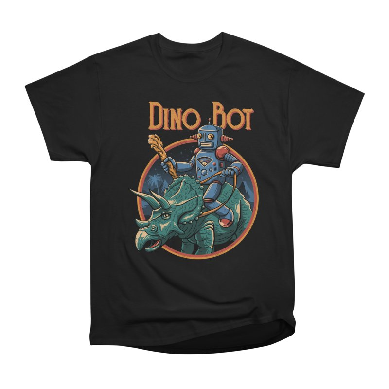 Dino Bot 2 Men's Classic T-Shirt by vincenttrinidad's Artist Shop
