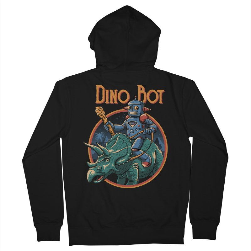 Dino Bot 2 Men's Zip-Up Hoody by vincenttrinidad's Artist Shop
