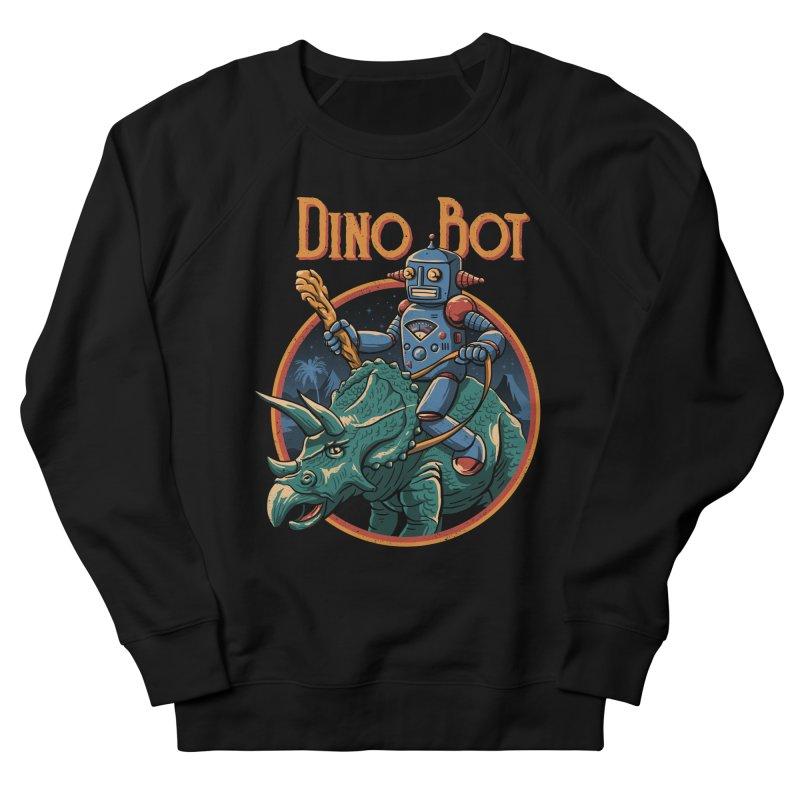 Dino Bot 2 Women's Sweatshirt by vincenttrinidad's Artist Shop
