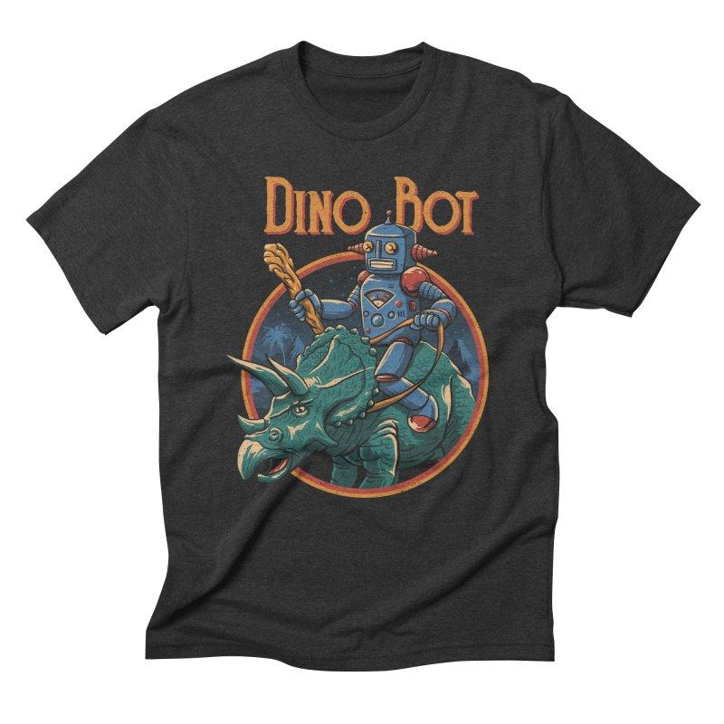 Dino Bot 2 Men's Triblend T-Shirt by vincenttrinidad's Artist Shop