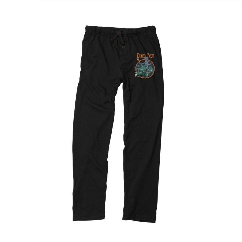 Dino Bot 2 Men's Lounge Pants by vincenttrinidad's Artist Shop