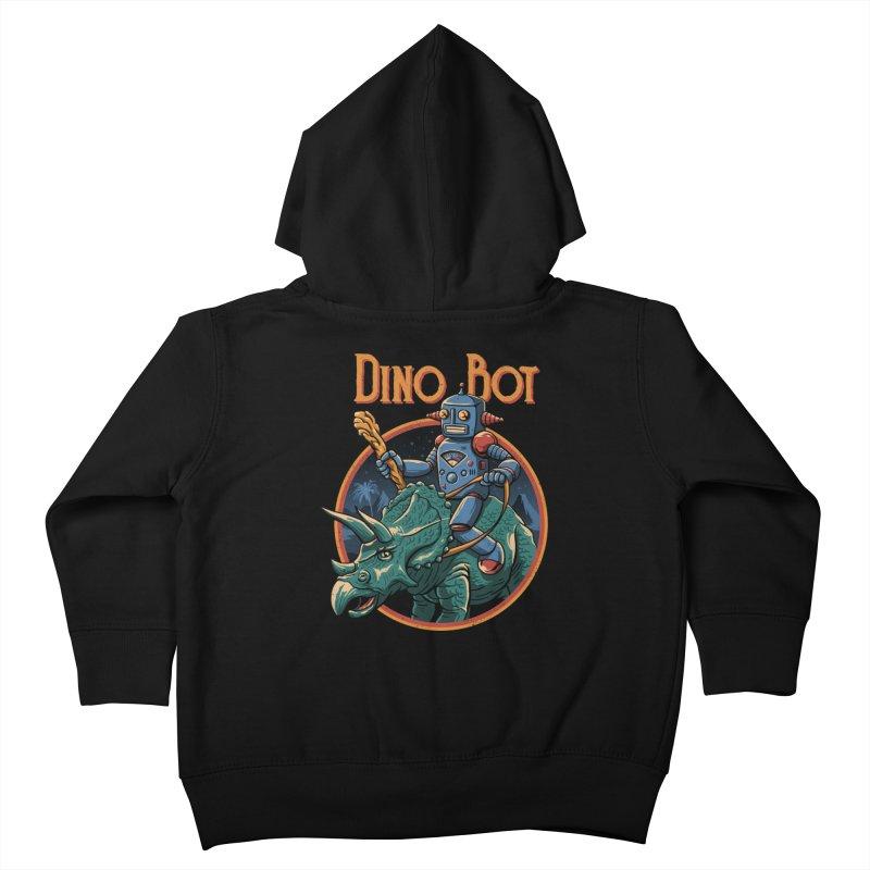 Dino Bot 2 Kids Toddler Zip-Up Hoody by vincenttrinidad's Artist Shop