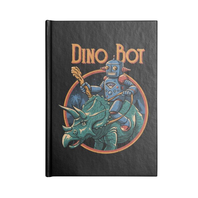 Dino Bot 2 Accessories Notebook by vincenttrinidad's Artist Shop