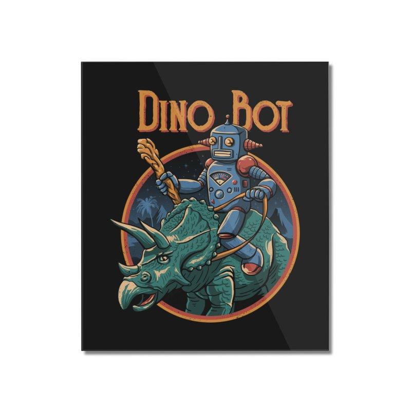 Dino Bot 2 Home Mounted Acrylic Print by vincenttrinidad's Artist Shop