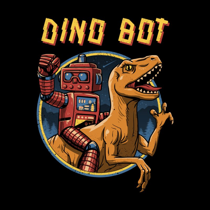 Dino Bot by Vincent Trinidad Art