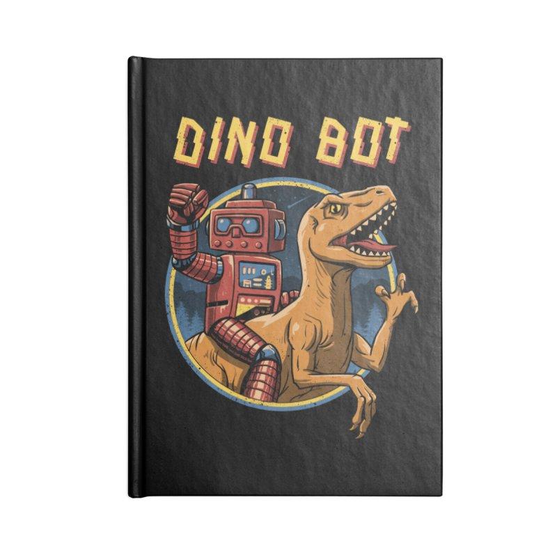 Dino Bot Accessories Notebook by vincenttrinidad's Artist Shop