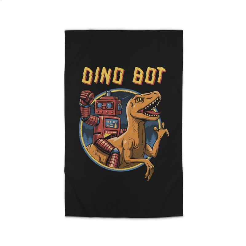 Dino Bot Home Rug by vincenttrinidad's Artist Shop