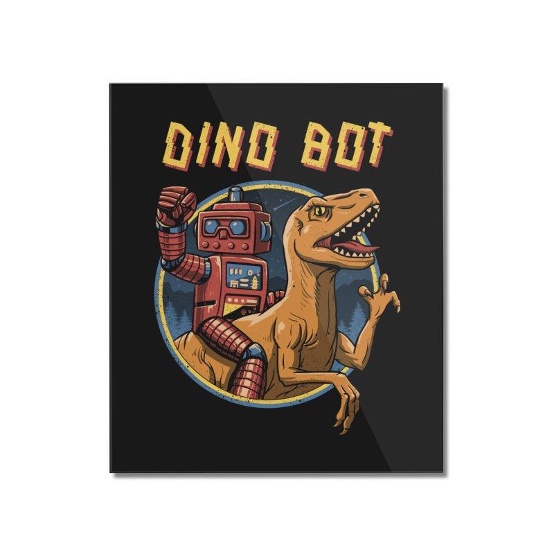 Dino Bot Home Mounted Acrylic Print by vincenttrinidad's Artist Shop