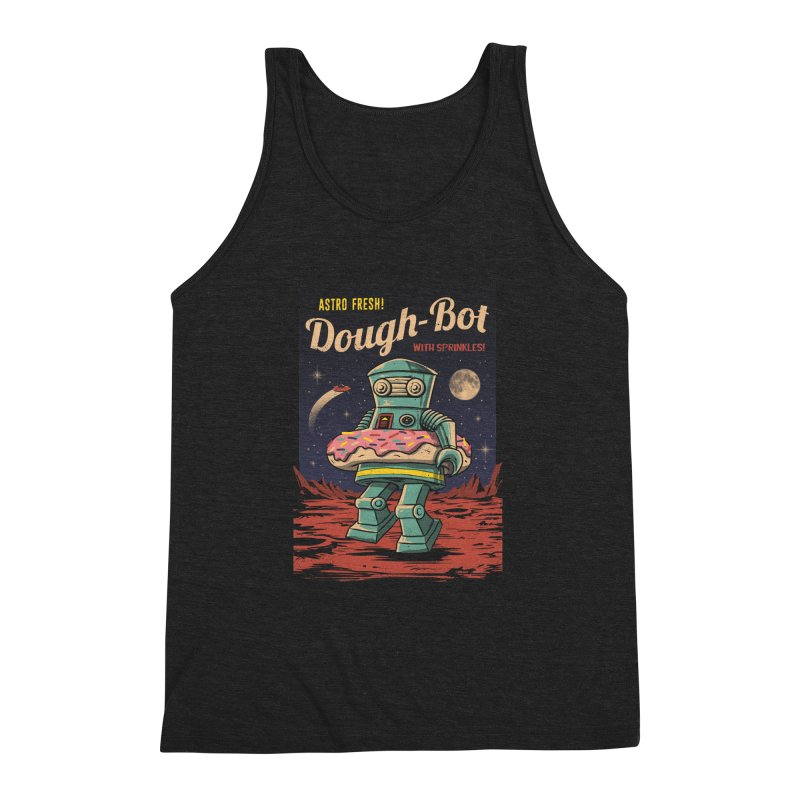 Dough Bot Men's Triblend Tank by vincenttrinidad's Artist Shop