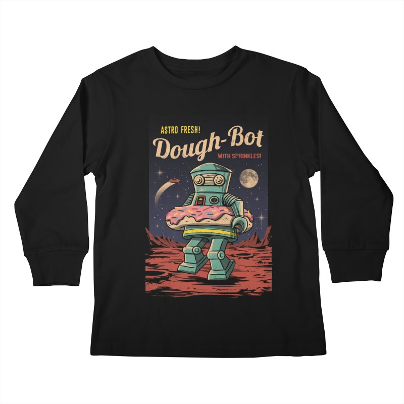 Dough Bot Kids Longsleeve T-Shirt by vincenttrinidad's Artist Shop