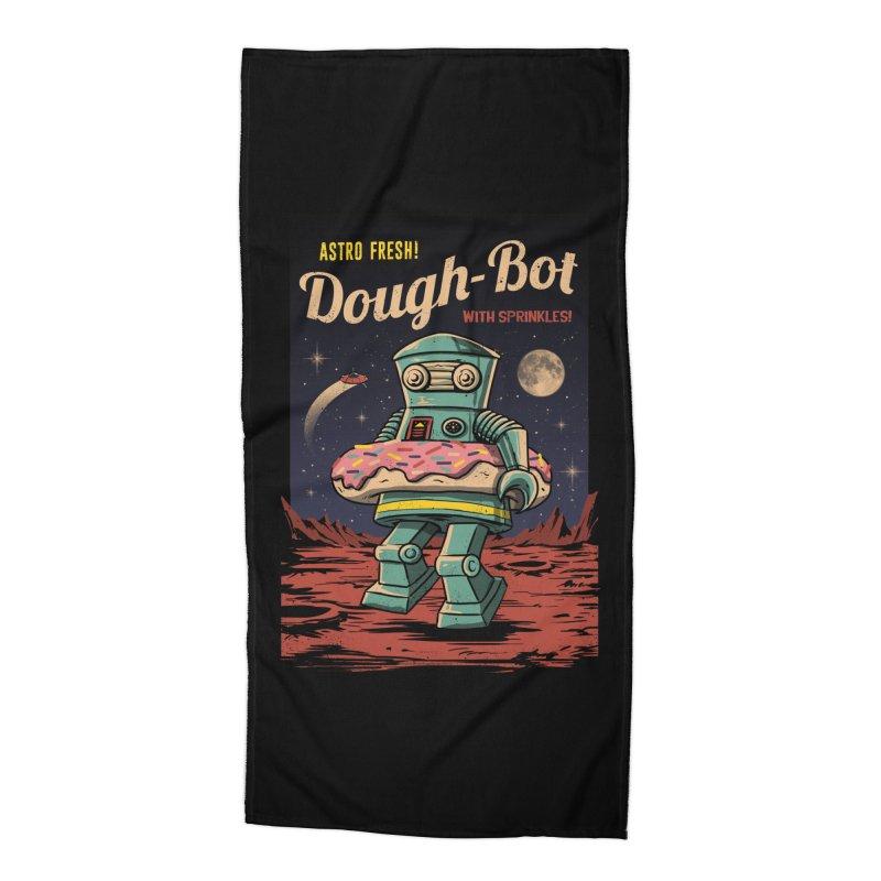 Dough Bot Accessories Beach Towel by vincenttrinidad's Artist Shop